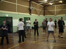 Training at Southern Wing Chun